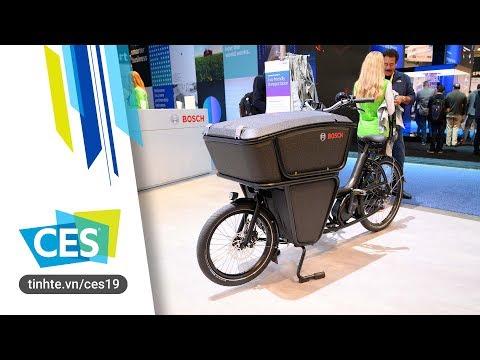 Cận cảnh xe đạp điện Bosch dành cho anh em shipper
