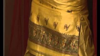 Neetu Chandra Collection - Mithila Art - Yellow Silk Dress