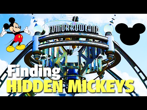 Finding Hidden Mickeys in Tomorrowland | Magic Kingdom