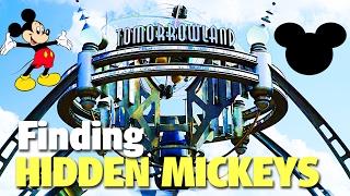 Finding Hidden Mickeys in Tomorrowland | Magi...
