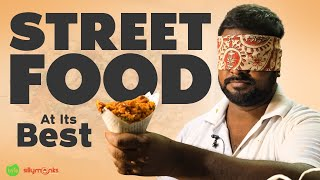 Fruit Bajjis | Amazing Indian Street Food | Rajahmundry | Bajji Mixture | Street Byte | Silly Monks