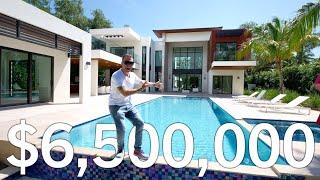 Скачать 6 500 000 Miami LUXURY House Tour In Pinecrest Miami Florida