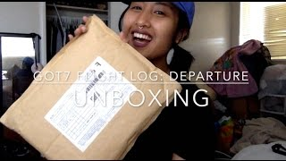 GOT7 FLIGHT LOG: DEPARTURE (ROSE QUARTZ): UNBOXING