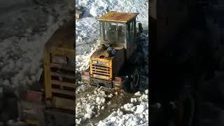 Усть-Кут, Халтурина, 54 уборка снега