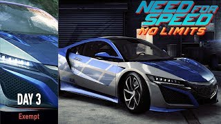 Need For Speed No Limits - Day 3 Devils Run Wolf County Honda NSX - iOS / Android