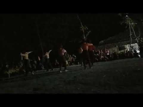 Aksi Pentas Seni & Api Unggun Dari Siswa Siswi MTs.MH.Tawang Jambon