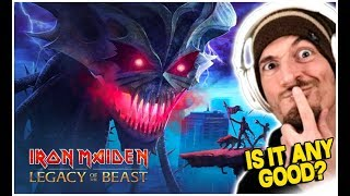 Iron Maiden: Legacy Of The Beast   Is It Any Good?