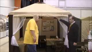 Тент шатер туристический Митек Пикник Элит(Надежный и потрясающе комфортный туристический тент шатер Пикник Элит от компании Митек., 2015-03-09T18:31:54.000Z)