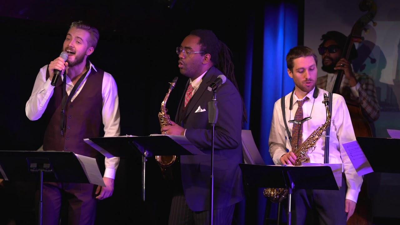 Dean Tsur Saxophone Choir: When You're Smiling / A Train (Live '18)