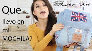 Que llevo en mi mochila | Fashion Riot Thumbnail