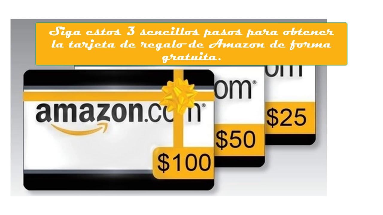 C mo obtener una tarjeta de regalo gratuita de amazon en for Roba usata regalo