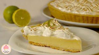 Pay De Limón Con Merengue Italiano / Lemon Pie With Italian Meringue