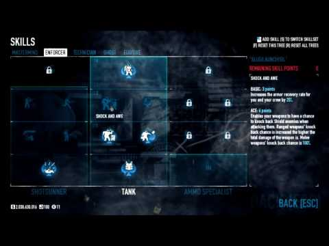 payday 2 one down armor build youtube. Black Bedroom Furniture Sets. Home Design Ideas