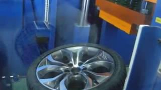 Тестирование на удар диски  BMW 336 стиль