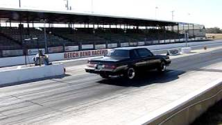 87 BUICK GRAND NATIONAL DAILY DRIVER DRAG RACING STREET TIRES 12.496@109.33 and 12.396@108.95