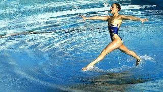 Is it possible to walk on water? (Synchronized Swimmer)