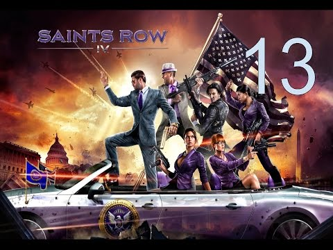 Saint's Row The Fourth! Mission #13 - Breaking The Law Part 3 - That Burning Sensation