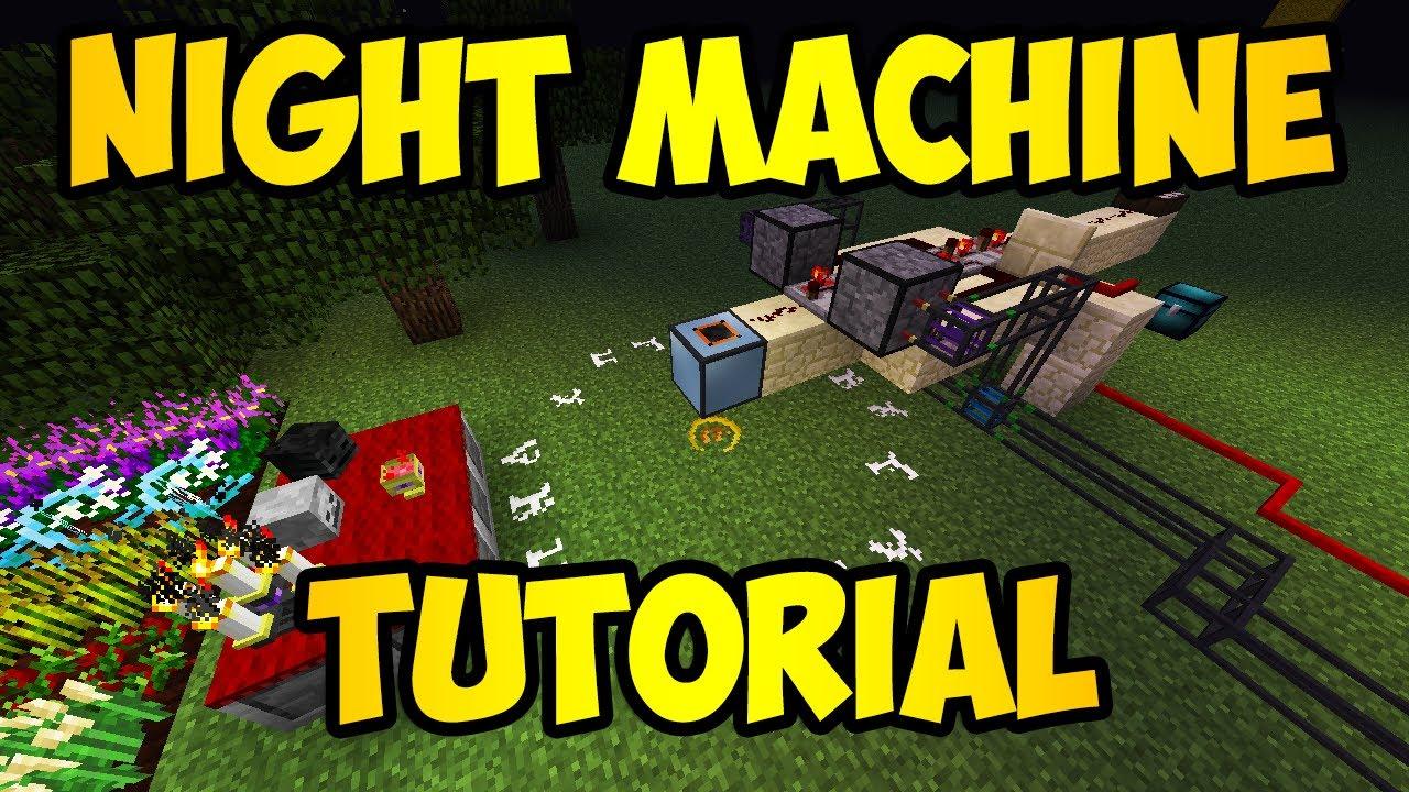 Minecraft: Attack of the B-Team NIGHT MACHINE Tutorial (HD)