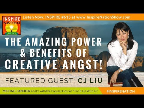 🌟 The Amazing Power & Benefits of Creative Angst! | MICHAEL SANDLER & CJ LIU