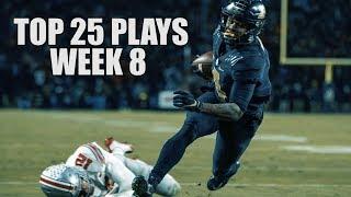 College Football Top 25 Plays 2018-19 || Week 8 ᴴᴰ