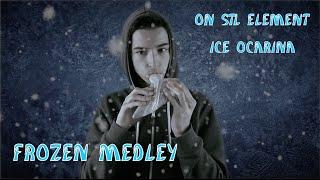 Medley of Disney's Frozen Songs on STL Element Ice Ocarina