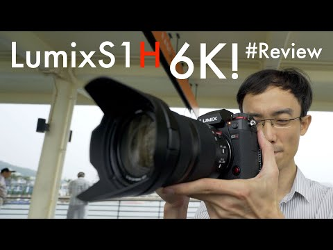 Panasonic S1H 6K Full Frame Camera has everything you want for video shooting! Hands-on Review