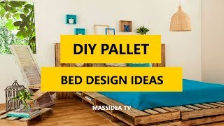 50+ Best DIY Pallet Bed Design Ideas for Bedroom 2018