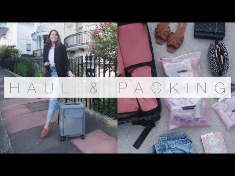 Beauty & Style Haul & Packing For VEGAS! | The Anna Edit