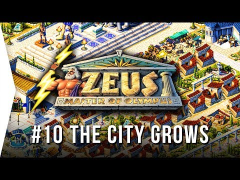 Zeus ► Mission 10 The City Grows - [1080p Widescreen] - Master Of Olympus City-building!