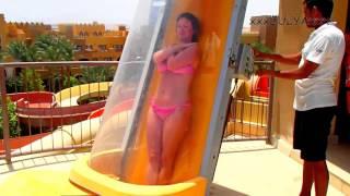 Sunwing Waterworld Makadi 5* (Egypt, Hurghada) Extreme waterslide - Экстримальная водная горка