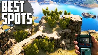 NEW RAGNAROK EXPANSION | BEST BASE LOCATIONS | Ark: Survival Evolved