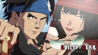 Guilty Gear -Strive- | Anji and I-No Gameplay Footage