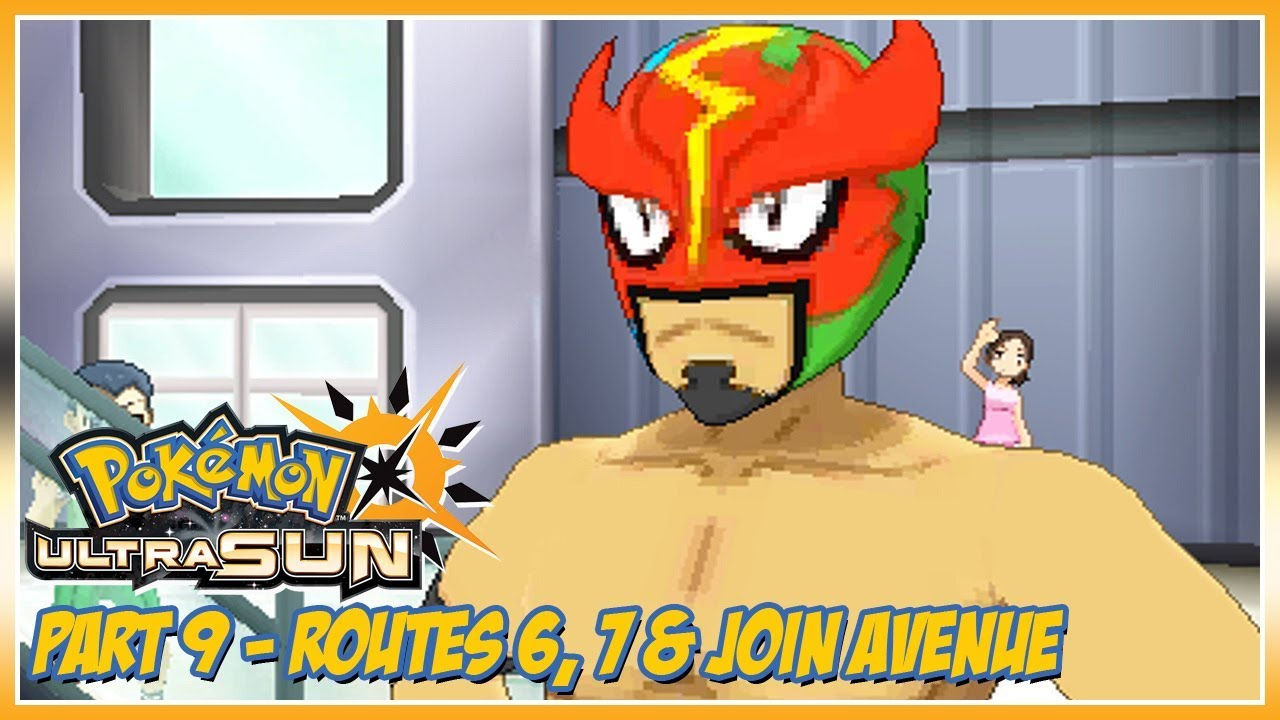 Pokémon Ultra Sun Walkthrough Part 9: Routes 6, 7 & Royal Avenue