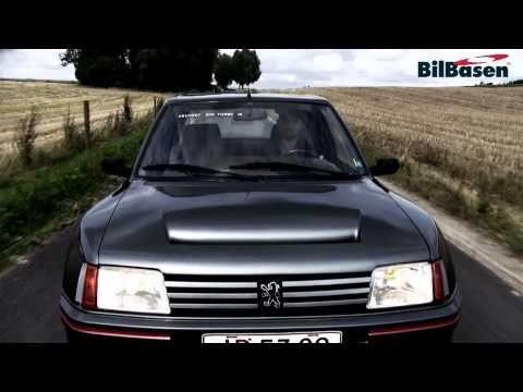 Bil-TV: Peugeot 205 T16