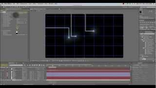 Animierte Tron-Linien-Tutorial für After Effects