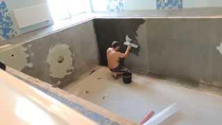 Гидроизоляция бетонного бассейна(http://kirpool.ru При отделке бассейна скидка на оборудование 20%, 2014-08-06T19:46:06.000Z)