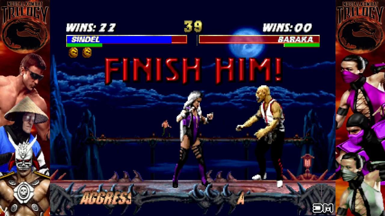 Mortal Kombat Trilogy All Fatalities N64