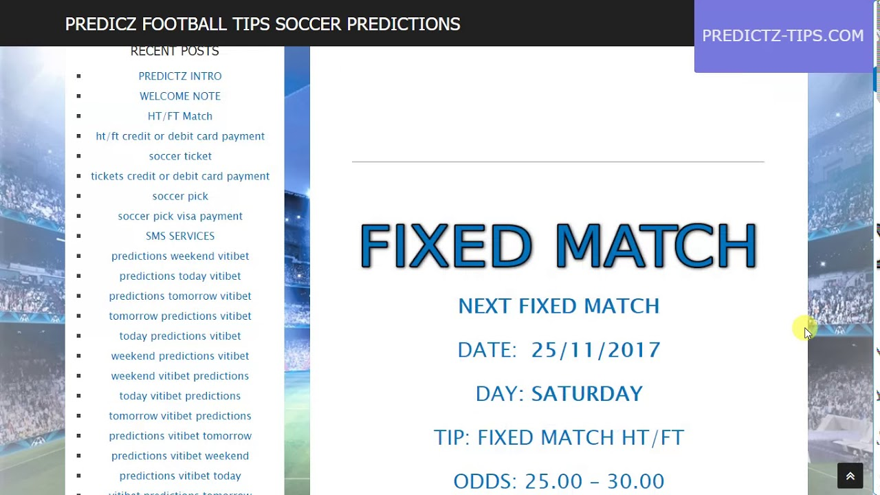 Soccer And Football Predictions Tomorrow
