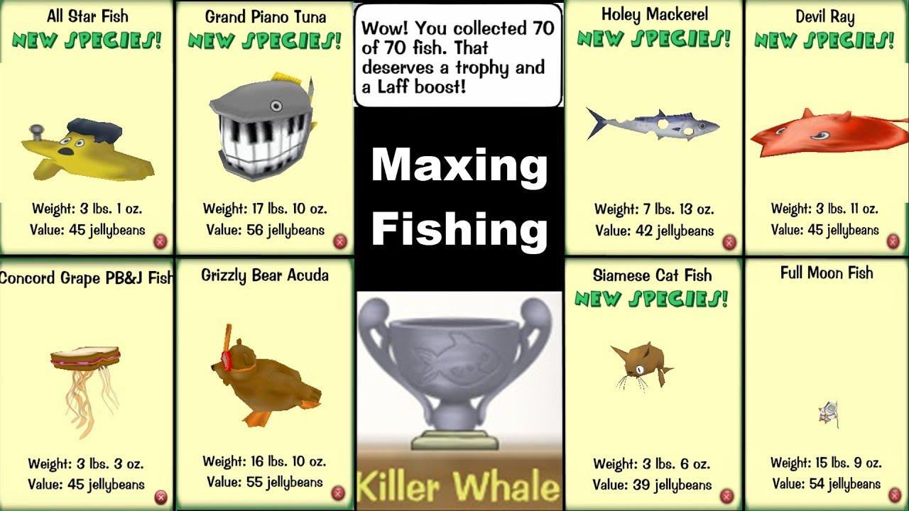 toontown rewritten maxing fishing youtube rh youtube com Women Fishing Cartoons Group Fishing Trip