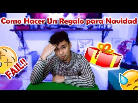 Como hacer un regalo para esta navidad  Omares Tal Cual
