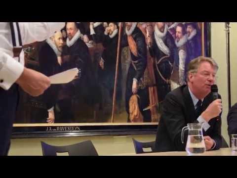 Impressie: Debat over Johan de Witt met o.a. Jort Kelder
