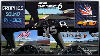 Gran Turismo 6 vs Assetto Corsa vs Project CARS - McLaren MP4-12C