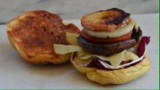 Crunchy Portobello Mushrooms Burgers (feat. Okb Bbq Sauce) - Episode 65 - Reveena's Kitchen