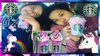 STARBUCKS UNICORN FRAPPUCCINO  LIFE WITH BROTHERS