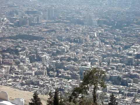 Damascus - View from Qassioun, Syria 2010