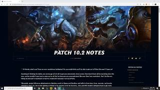 Patch 10.2 Rundown - Karma For Yasuo's Broken Ankles.