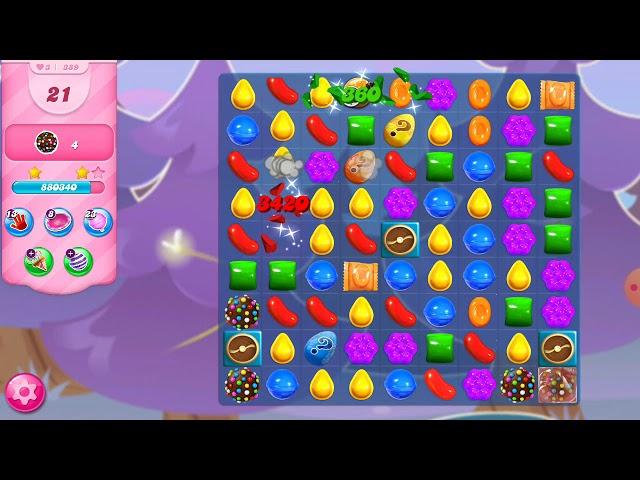 Candy Crush Saga niveau 389