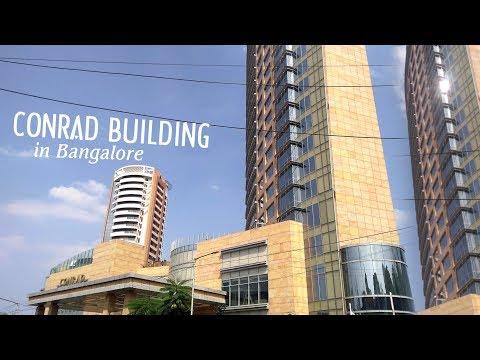Conrad Building in Bangalore ! Hotel !  7 Star Hotel