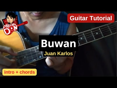 Guitar Tutorial (Intro and Chords) BUWAN, Juan Karlos - with Tablature