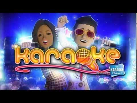 Karaoke Xbox 360 Music - Menu